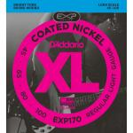 EXP170 Coated Nickel Wound Bass, Light, 45-100, Long Scale