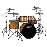 REFLEX 522 MAPPA BURL WRAP 5 PC DRUM SET