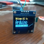"OLED LCD LED Display ""2 Colors"" Module 0.96"" 128X64 For Arduino"