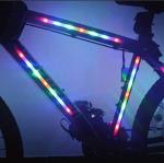 ไฟประดับเฟรมจักรยาน 14 LED BIKE300 เขียว/ฟ้า/แดง/หลากสี
