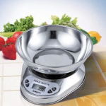 เครื่องชั่งดิจิตอลแสตนเลส ทำครัว ทำอาหาร 5Kg ความละเอียด 1g SCL269
