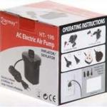 สูบไฟฟ้า ปั๊มลมไฟฟ้า BOAT016