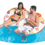 โซฟาคู่ลอยน้ำ HAWAII FLOWER BOAT011