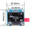 """OLED LCD LED Display Module 0.96"""" 128X64 For Arduino thumbnail 2"""