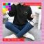 เสื้อคลุมแฟชั่น มีฮูด แขนยาว ผ้าร่ม ลาย Smile สีดำ thumbnail 6