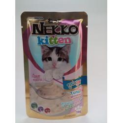 เน็กโกะ สูตรลูกแมว ทูน่ามูส 1ลัง (48ซอง) ส่งฟรี