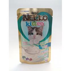 เน็กโกะ เพาซ์ สูตรลูกแมว ไก่มูส 1ลัง (48ซอง) ส่งฟรี