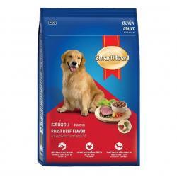 อาหารสุนัข สมาร์ทฮาร์ท สุนัขโต รสเนื้ออบ 10 กิโลกรัม ส่งฟรี