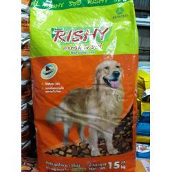 อาหารสุนัขโต ริชชี่ (Rishy) 15 กิโลกรัม ส่งฟรี