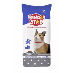 อาหารแมว บิงโกสตาร์ รสปลาทู 20 กิโลกรัม ส่งฟรี